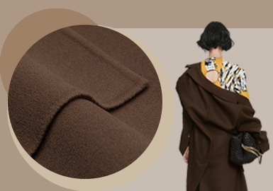 Entry Luxury Texture -- The Fabric Trend for Women's Woolen Outerwear