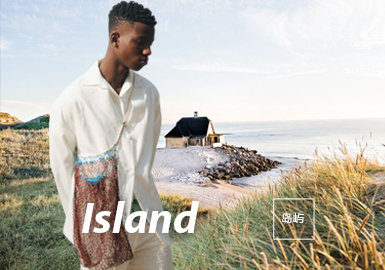 Island -- The Theme Fabric Trend for S/S 2022 Menswear