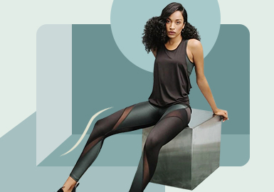Sweat Principle -- The Silhouette Trend for Women's Indoor Sportswear