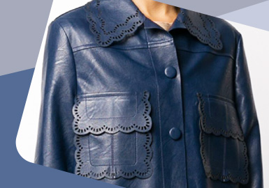 Delicate Details -- The Craft Detail Trend for Women's Leather Clothing