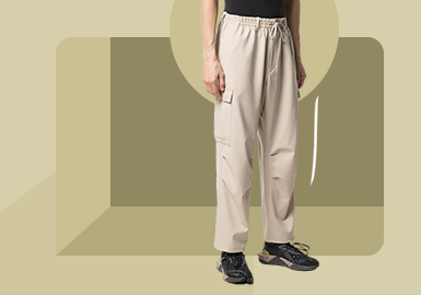 Workwear Heritage -- The Silhouette Trend for Men's Trousers