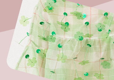 Delicate Decoration -- The Craft Trend for Womenswear