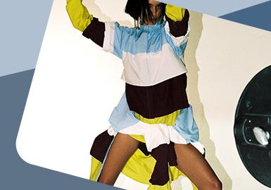 Rhythm Splicing -- The Detail Craft Trend for Womenswear