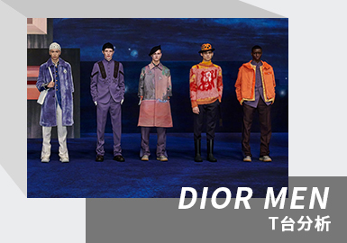 The Combination of Painting and Fashion -- The Menswear Catwalk Analysis of DIOR MEN