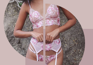 Delicate Embroidery -- The Craft Trend for Women's Underwear