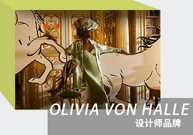 Satin and Prints -- The Analysis of OLIVIA VON HALLE The Women's Loungewear Designer Brand