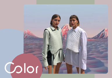 Another Escape, Another World -- The Color Trend for Women's Puffa Jacket