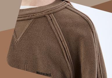 Delicate Sweatshirt -- The Detail Craft Trend for Men's Sweatshirt