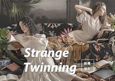 Strange Twinning -- The Fabric Trend for S/S 2022 Womenswear