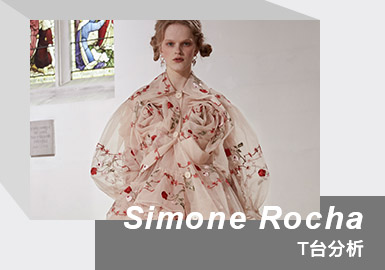 Rebellious Winter Rose -- The Womenswear Catwalk Analysis of Simone Rocha