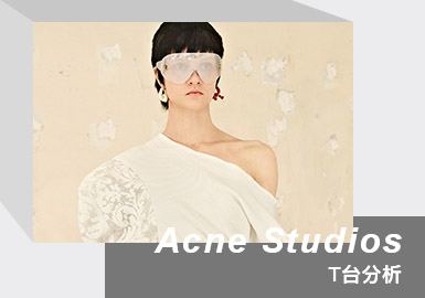 Dreamscape and Reality -- The Womenswear Catwalk Analysis of Acne Studios