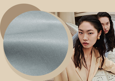Rebuilt Delicacy -- The Blend Fabric Trend for Womenswear