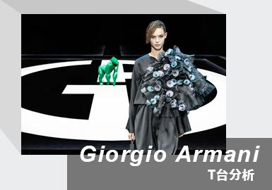 Romantic Beauty of the Night Sky -- The Womenswear Catwalk Analysis of Giorgio Armani