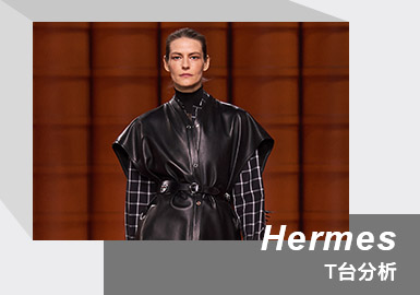 Three Acts -- The Womenswear Catwalk Analysis of Hermes