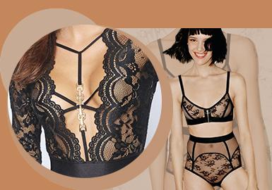 Metallic Accessory -- The Accessory Trend for Women's Underwear