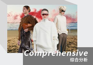 Minimalist Silhouette -- The Comprehensive Analysis of Women's Knitwear Catwalks