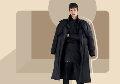 Urban Grace -- The Silhouette Trend for Men's Down Jacket