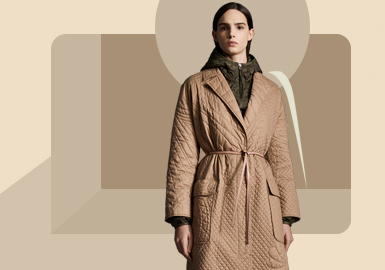 Fitted Long Styling -- The Silhouette Trend for Women's Down Jacket