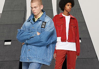Denim -- The Silhouette Trend for Men's Denim Jackets