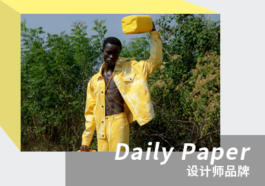 Positive Emotion -- The Analysis of Daily Paper The Menswear Designer Brand