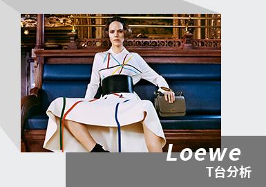 Virtual Feast -- The Womenswear Catwalk Analysis of LOEWE