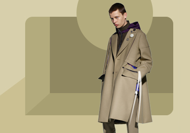 Classic Fashion -- The Silhouette Trend for Men's Overcoat and Duster Coat