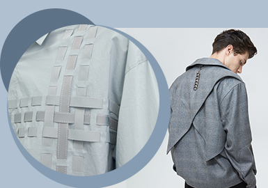 Linear Decoration -- The Comprehensive Accessory Trend for Menswear.