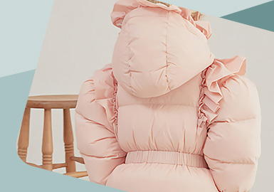Micro Attraction -- The Detail Craft Trend for Kids' Down Jacket