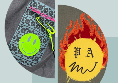 Smiley Face&Joyous Vibe -- The Pattern Craft Trend for Menswear