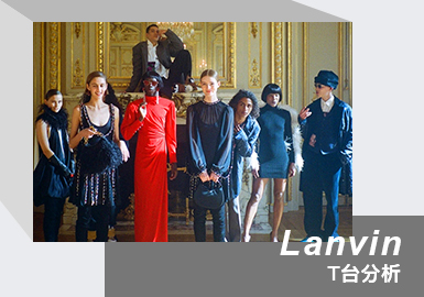 Glamourous Party -- The Women Catwalk Analysis of Lanvin
