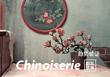 Chinoiserie -- The Color Trend Confirmation of Womenswear Theme