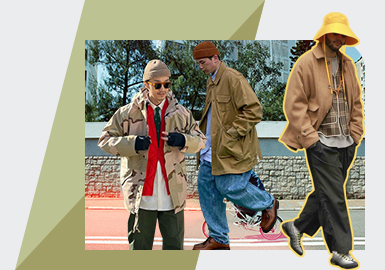 Loose Style -- The Comprehensive Analysis of Menswear Street Snap on Instagram