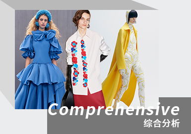 The Dawn in The Darkness -- The Comprehensive Analysis of Womenswear Catwalks (Color)
