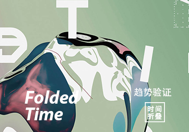Folded Time -- The Color Trend Confirmation of Womenswear Theme