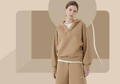 Three-kilometer Life Circle -- The Silhouette Trend for Women's Loungewear