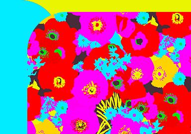 Neon-light Flower -- The Pattern Trend for Womenswear