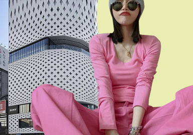 The Trendy Color in First Quarter -- The Color Analysis of Womenswear Markets