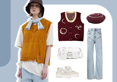 Sunny and Sweet Girl -- The Clothing Collocation of Women's Denim