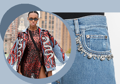 Teen Fashion World -- The Accessory Trend for Women's Denim