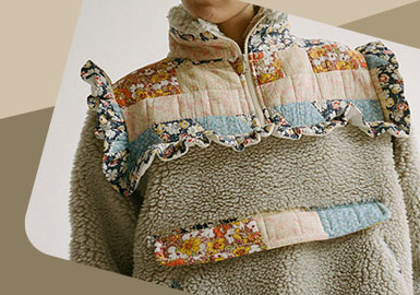 Splicing and Recreation -- The Detail Craft Trend for Womenswear