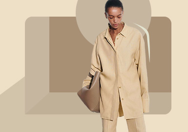 Softness and Strength -- The Silhouette Trend for Women's Shirt