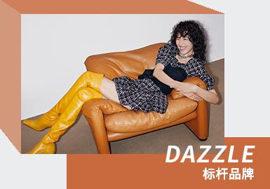 Classic and Eternity -- The Analysis of DAZZLE The Womenswear Benchmark Brand