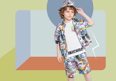 Multi-function Practicalism -- The Silhouette Trend for Boys' Wear