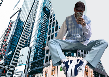 Trendy Colors in the First Quarter -- The Color Analysis of Menswear Market