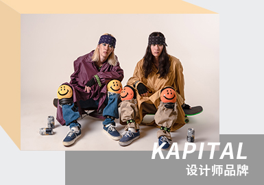 Bold Collision and Creation -- The Analysis of KAPITAL The Menswear Designer Brand