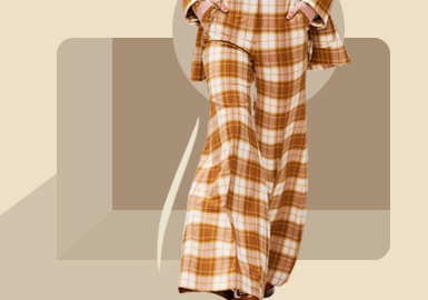 Wide and Fit Trousers -- The Silhouette Trend for Women's Trousers