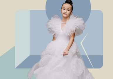 Romantic Fairy -- The Silhouette Trend for Girls' Gown Dress