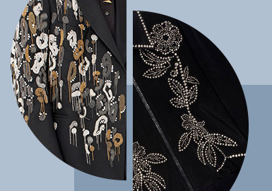 The Revival of Metal -- The Pattern Craft Trend for Menswear