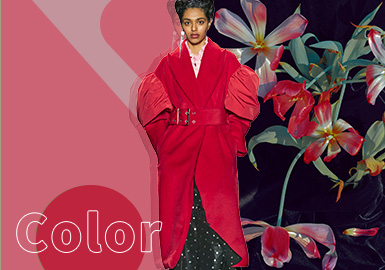 Lychee -- The Color Trend for Womenswear Theme