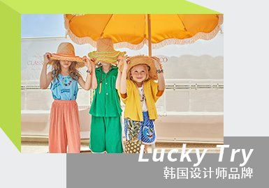Island Holiday -- LUCKY TRY The Kidswear Designer Brand